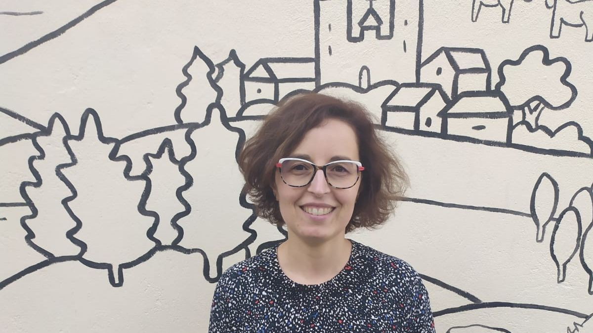La presidenta de la Rede Galega contra a Pobreza, Eloína Ingerto.