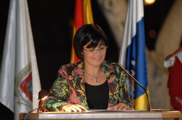 CAROLINA DARIAS PRONUNCIA EL PREGON DE LAS ...