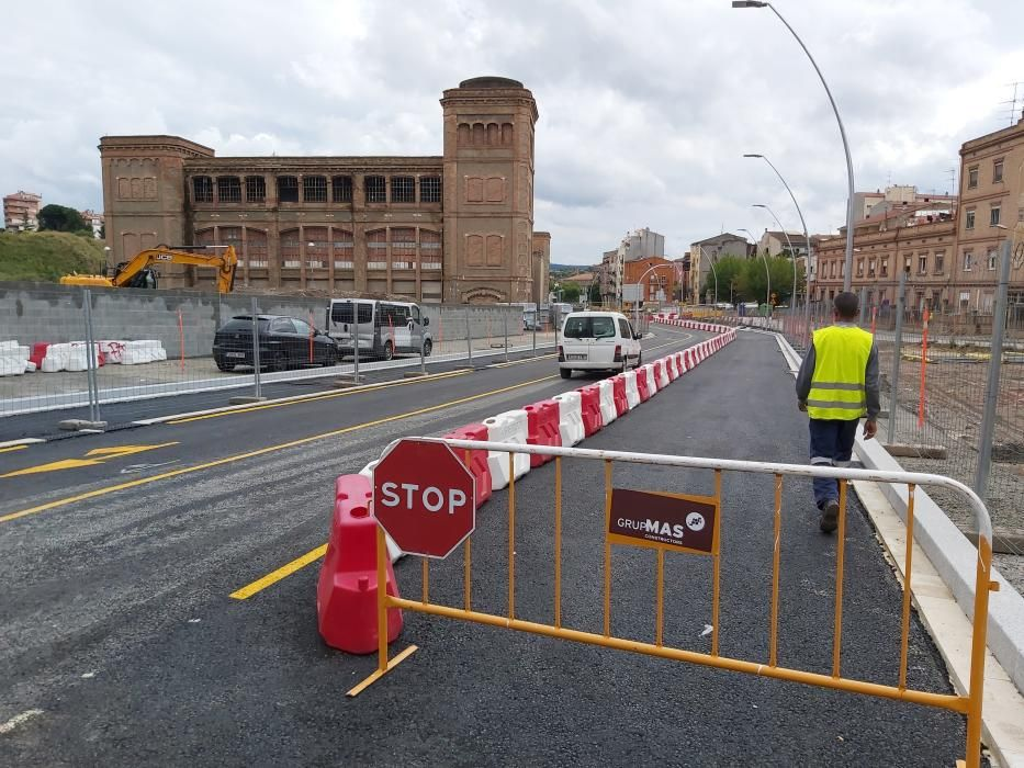 Segona fase d'obres per urbanitzar l'entorn de la Fàbrica Nova