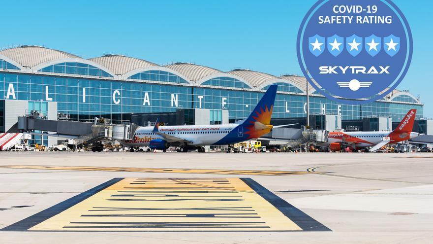 El aeropuerto de Alicante-Elche entre los 5 más seguros de España en la prevención frente al covid