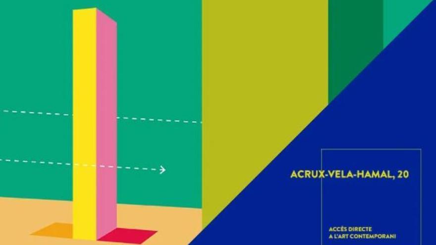 "Visita en família: ""Acrux-Vela-Hamal, 20"" de Rosa Brun"