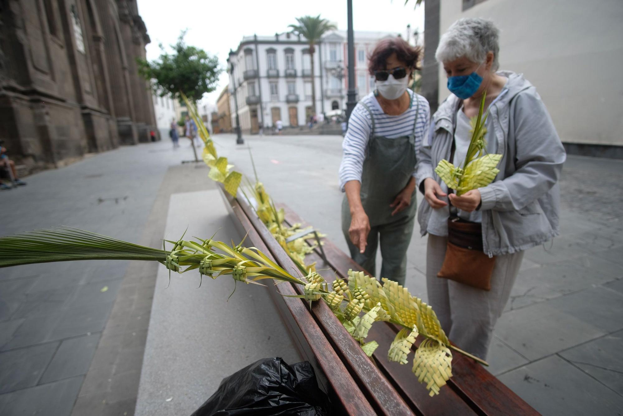 Domingo de Ramos en Las Palmas de Gran Canaria (28/03/21)