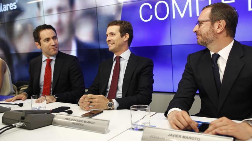 El PP propone a Cs y Vox participar en una mesa 'a tres'