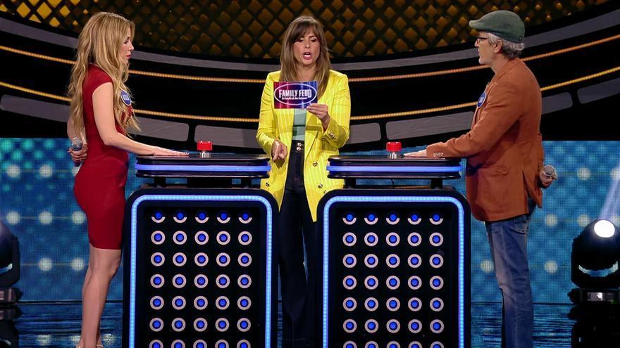 'OT 1' y 'Eurovisión' se enfrentan en 'Family Feud', que vuelve a competir contra el 'Deluxe'
