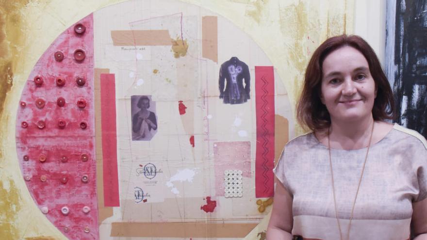 Rosa Solano reflexiona sobre el gravat al Casino de Manresa