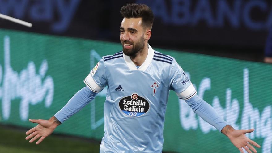 """Brais Méndez da su receta para ganar al Valladolid: """"Tenemos que jugar a lo que sabemos, pelear, correr y no dejar nada para el final"""""""