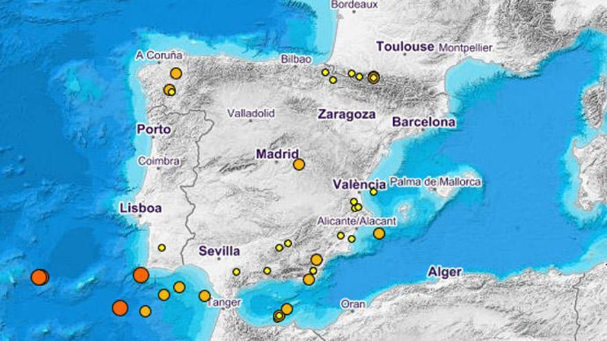 Galicia registra dos temblores de tierra, en Friol y Piñor
