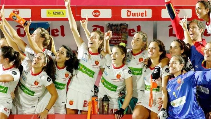 España gana el bronce europeo en hockey hierba con la asturiana María López en la tanda de 'shoot-outs'