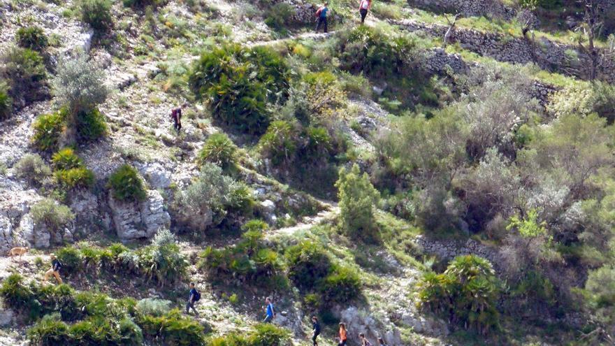 Muere un senderista de 39 años al sufrir una caída en el Barranc de l'Infern