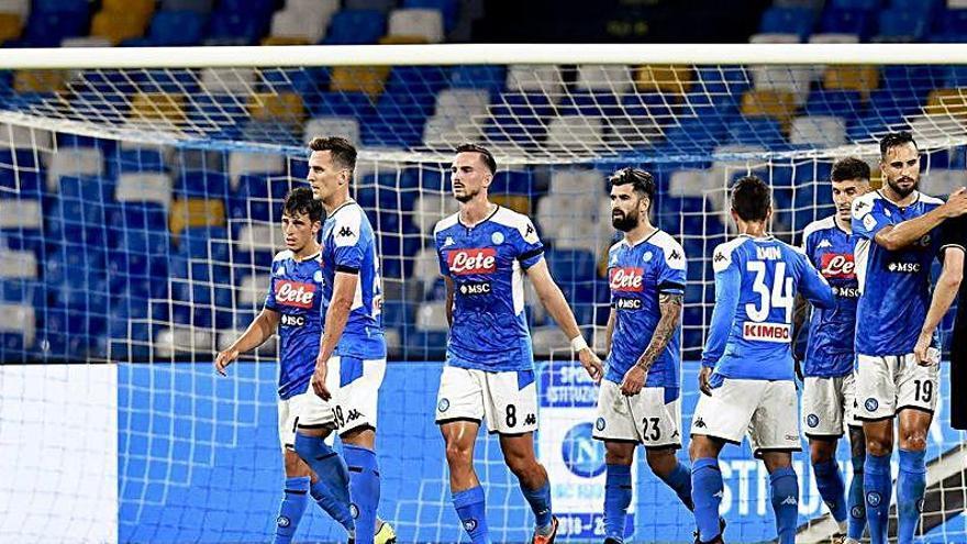 El Napoli gana la Coppa en la tanda y Cristiano se queda sin lanzar