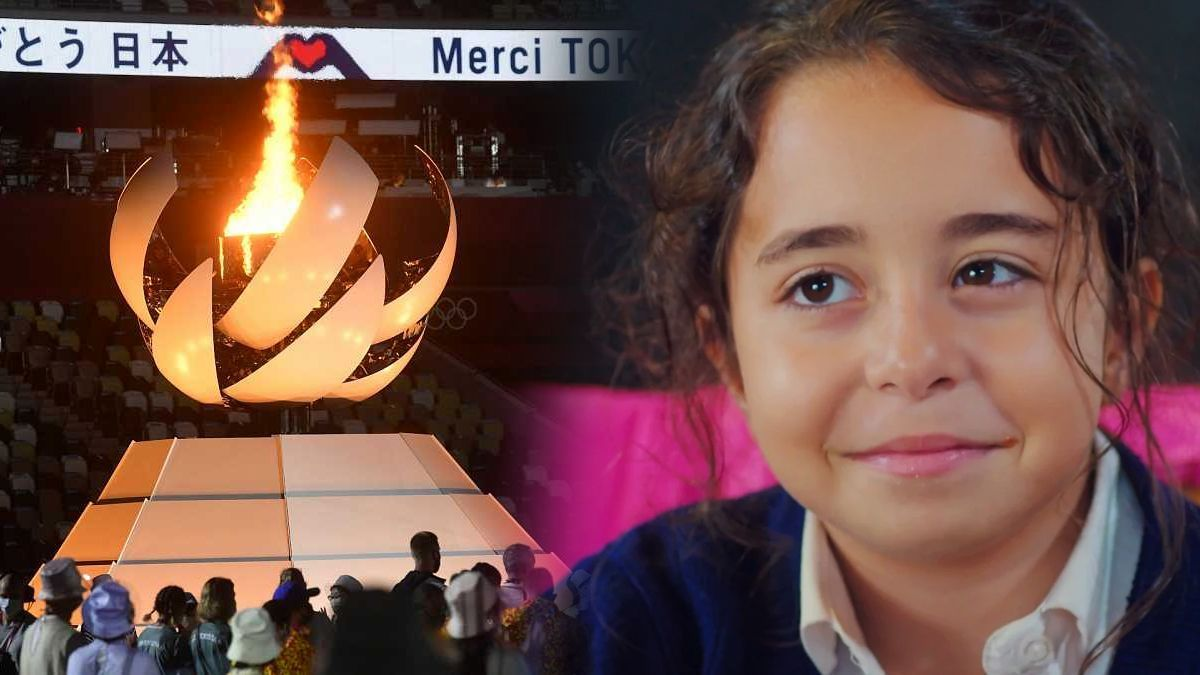 The closing ceremony of the Tokyo Games and a picture of & # 039; My daughter & # 039 ;.