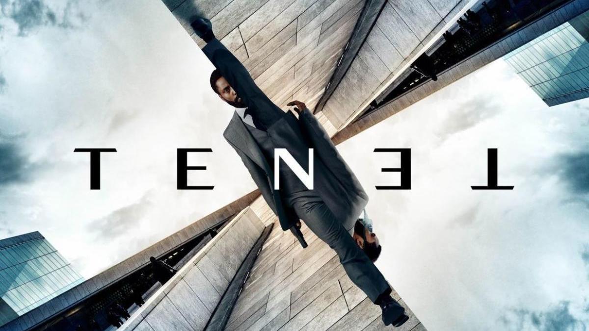 Cartel de la película 'Tenet', de Christopher Nolan.