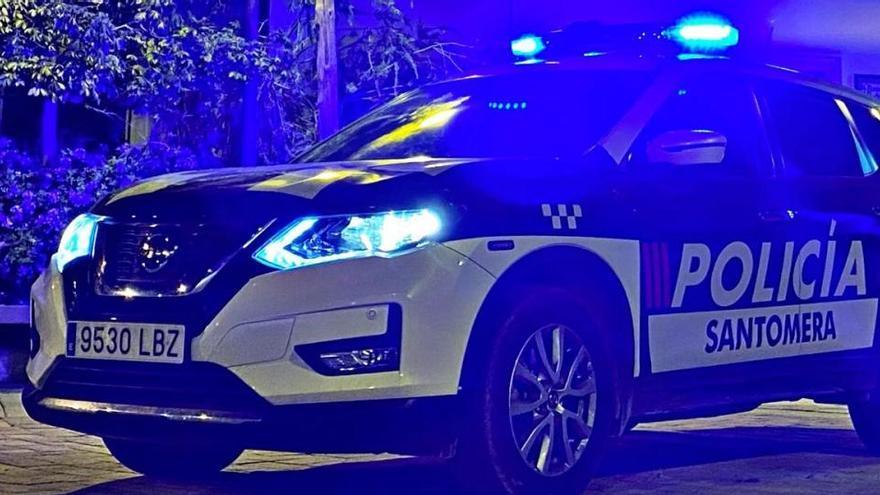 Ataca a la Policía Local en una persecución de madrugada por Santomera