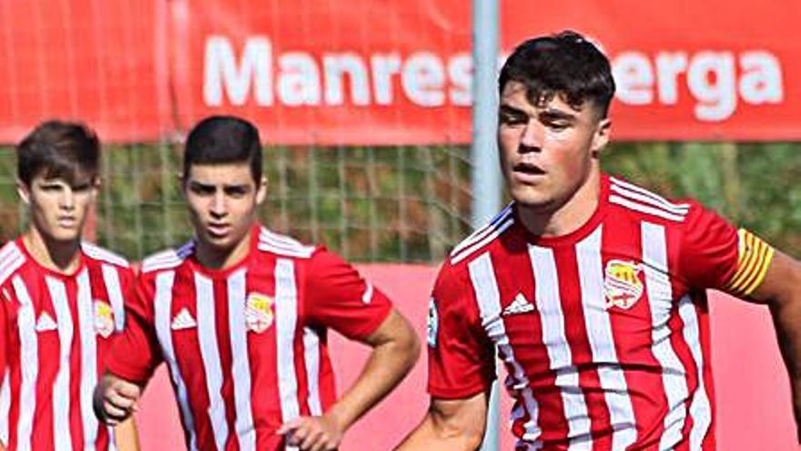 El juvenil del Manresa segella el segon triomf en dos partits