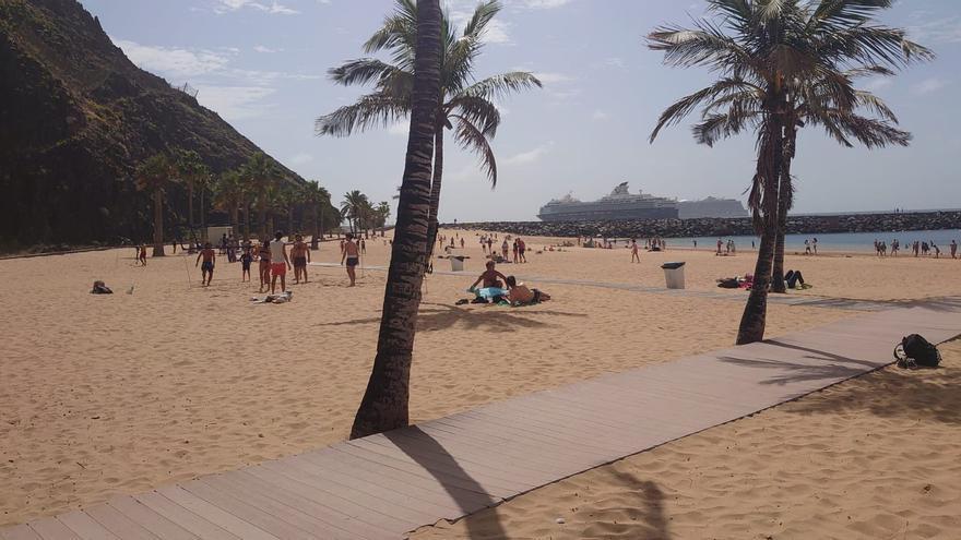 Sin incidencias en las playas de Santa Cruz este Viernes Santo
