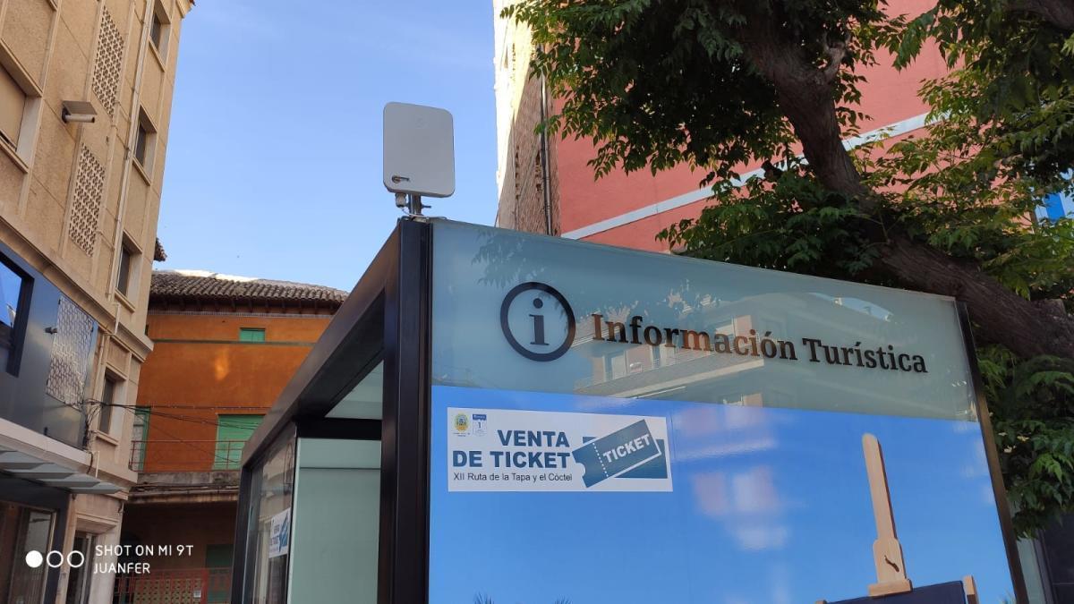 Cehegín ya cuenta con wifi gratuito en numerosos espacios públicos