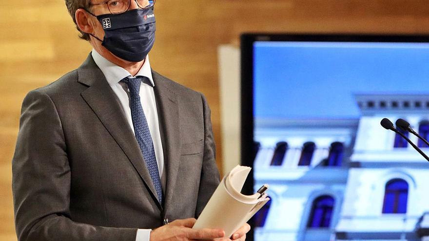 La Xunta prepara otro rescate a autónomos, empresas y hosteleros con 50 millones más