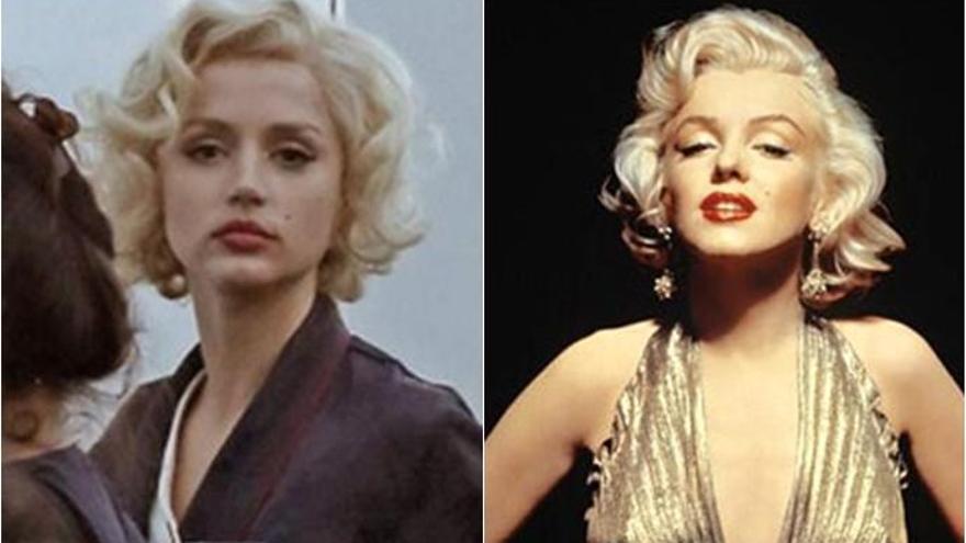 Ana de Armas y otras actrices a lo Marilyn Monroe