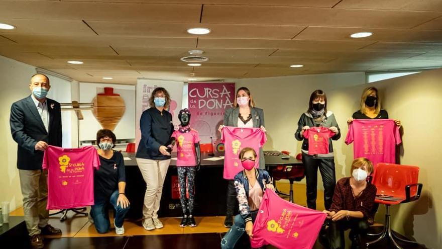 El Grup Iris fa una crida a la participació a la cinquena Cursa de la Dona de Figueres