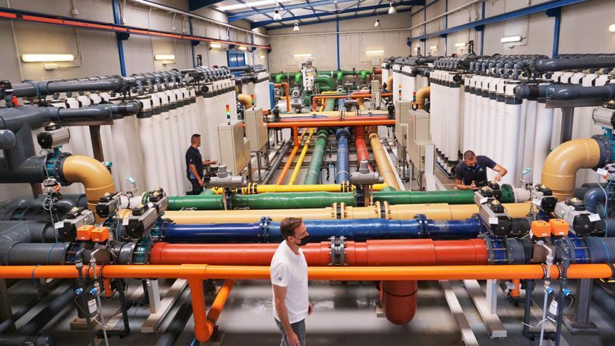 Gran Canaria se convierte en banco de pruebas mundial para abaratar la desalación de agua