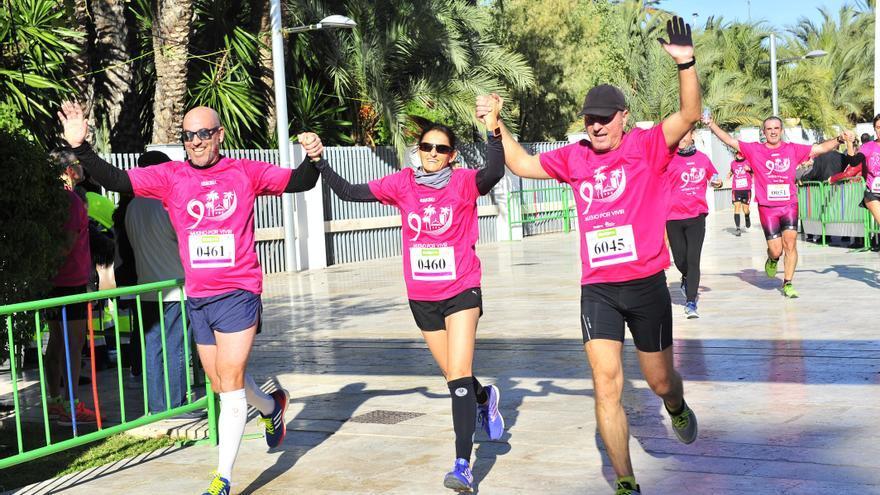 Una carrera online contra el cáncer de mama en Elche