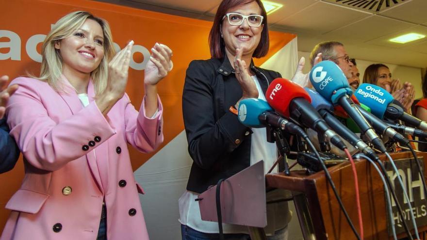 Isabel Franco y Ana Martínez Vidal entran en la Ejecutiva nacional de Cs