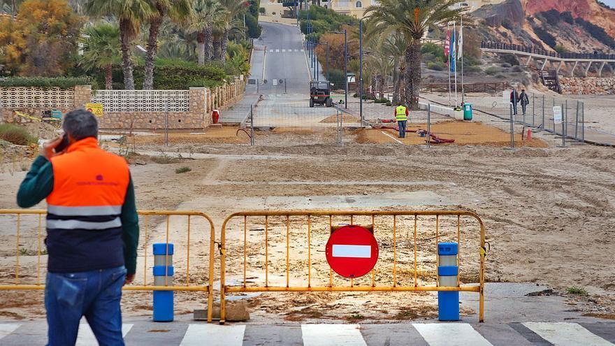 La negativa de Costas a que se arregle el vial de La Glea parte Campoamor en dos