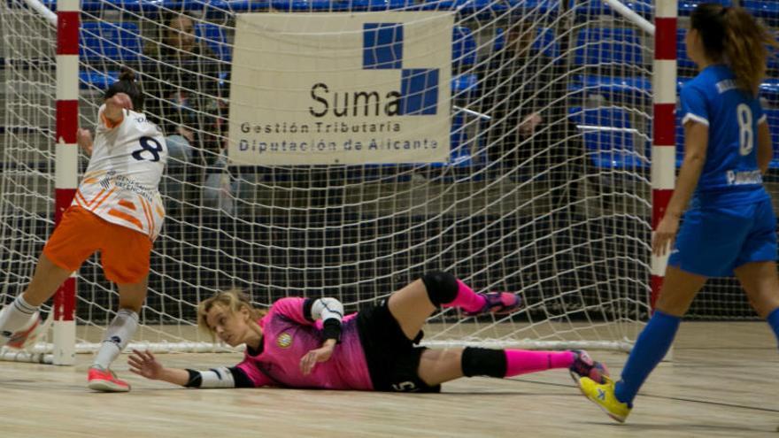 Xaloc Alacant y UA se juegan los cuartos en la Copa