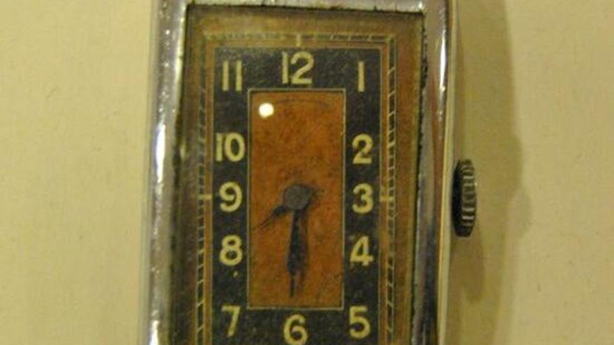 Justícia torna a la família d'un deportat català un rellotge de polsera confiscat pels nazis