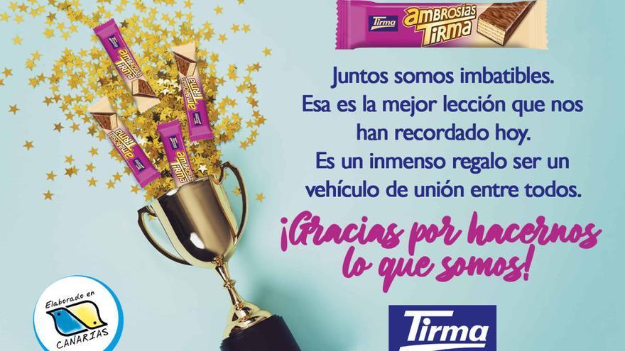 Las ambrosías Tirma ganan el #MundialDeChocolatinas