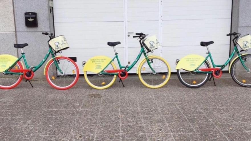 La Girocleta estrena rodes  de color per evitar furts