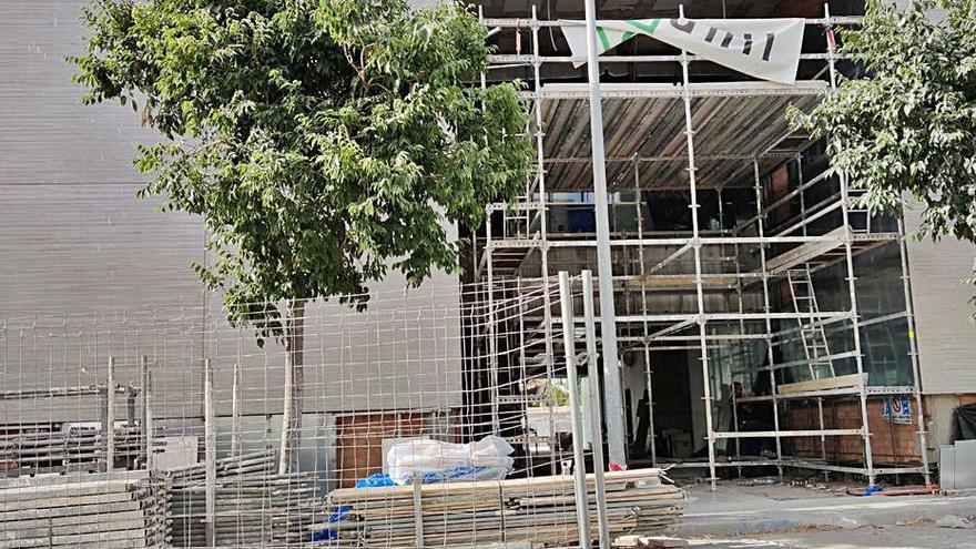 UP critica los retrasos en el centro de salud de San Pedro