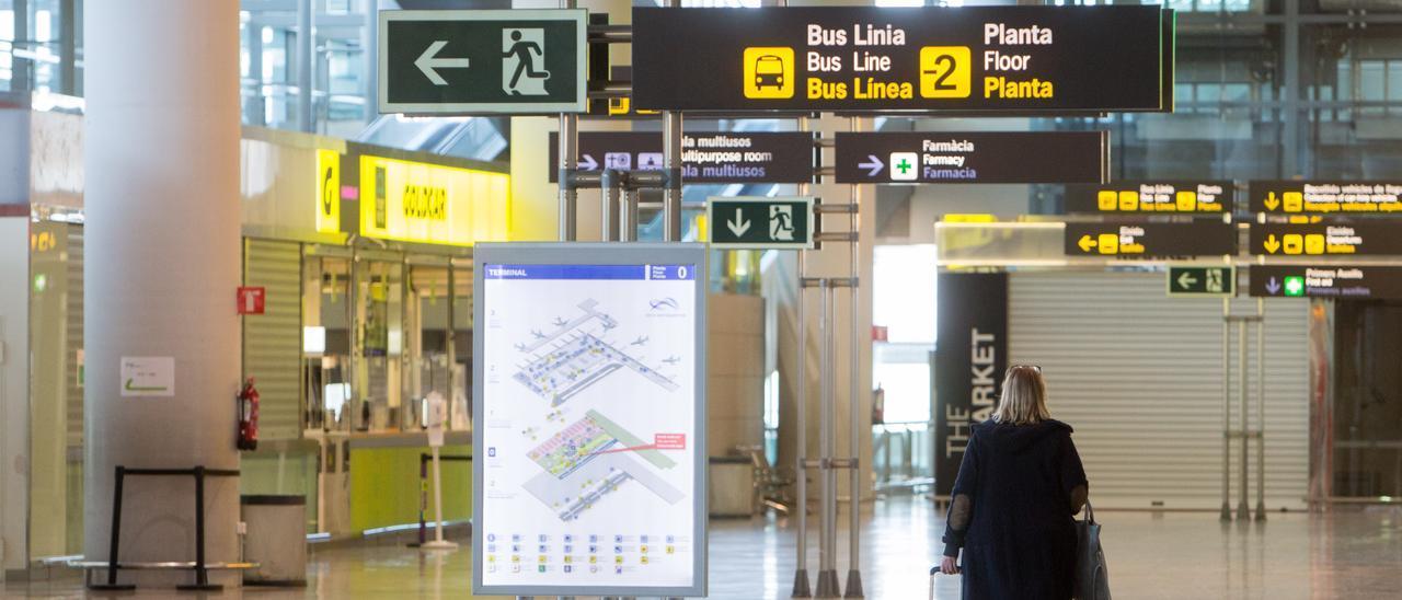 El aeropuerto internacional de El Altet