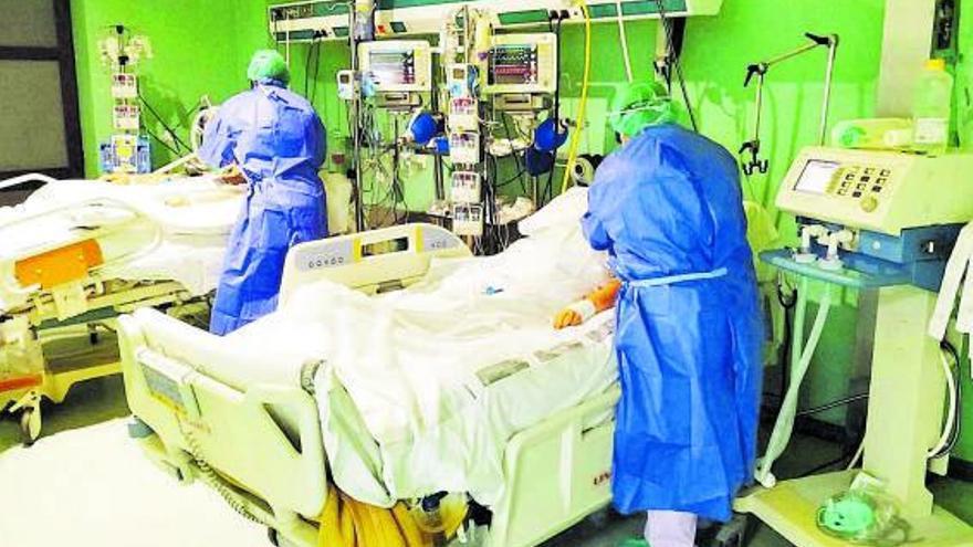 La insuficiencia respiratoria aguda afecta al 15 % de los ingresados entre 18  y 50 años