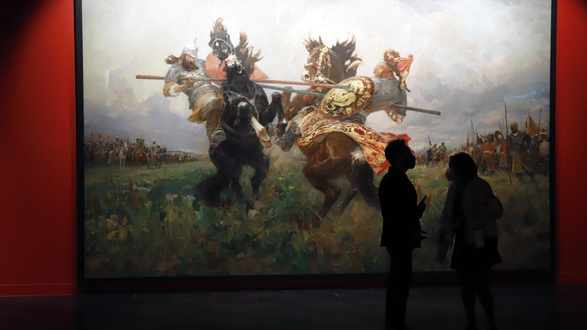 'Guerra y paz en el arte ruso', la nueva exposición anual del Museo Ruso