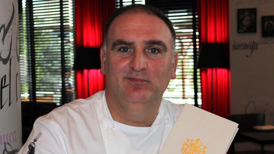 El chef José Andrés, entre las 100 personas más influyentes
