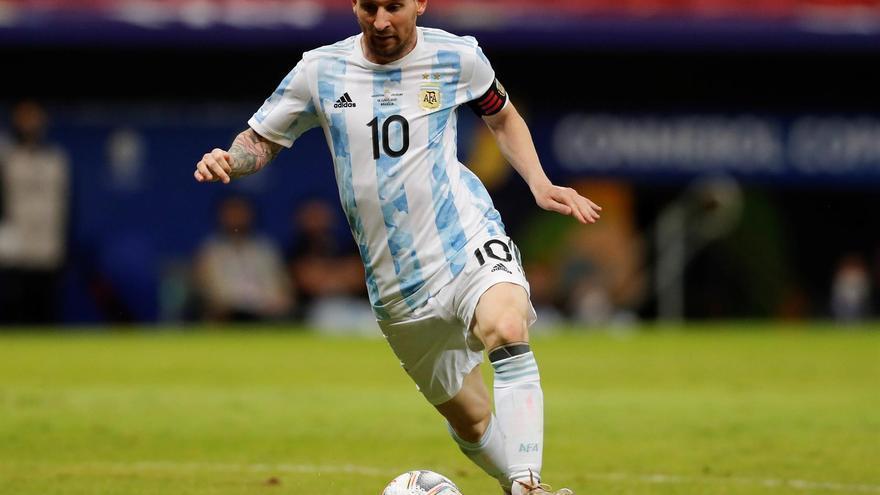 Argentina derrota a Uruguay con un tanto de Guido Rodríguez