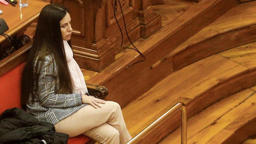 Rosa Peral durante el juicio.