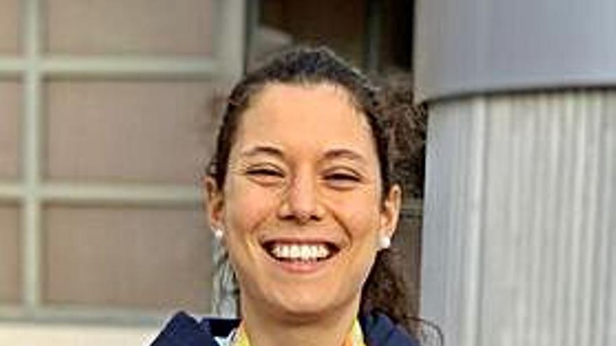 La gijonesa Isa Barreiro roza la medalla en el 5.000 del Europeo sub-23