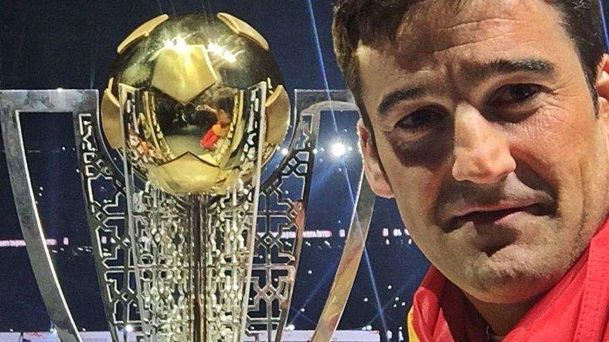 La RFEF prescinde del gallego José Sambade, preparador de porteros de la Eurocopa