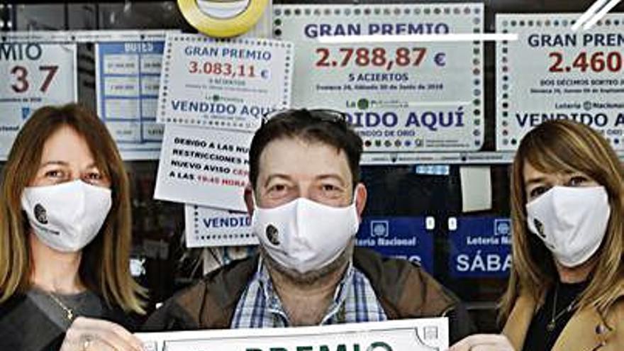 Un décimo del segundo premio de la lotería deja 25.000 euros en Nuevo Gijón