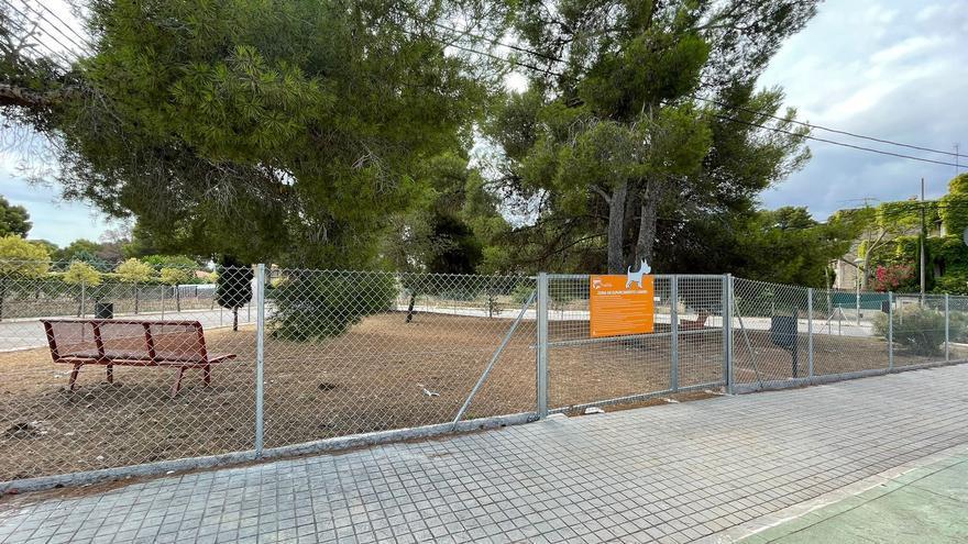 Paterna construye una nueva zona de esparcimiento canino en La Canyada