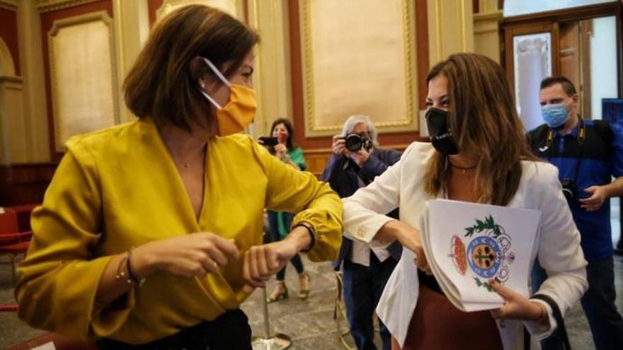 Evelyn Alonso discrepa de su portavoz en su primera votación como edil