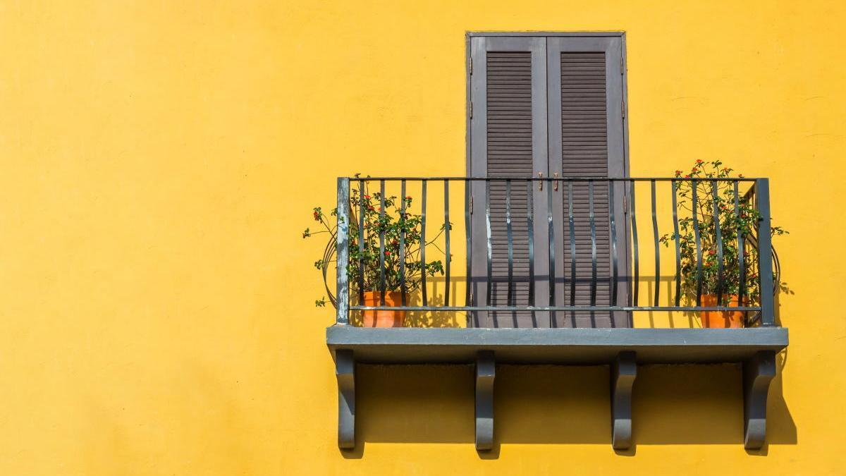 El balcón, un objeto de deseo.