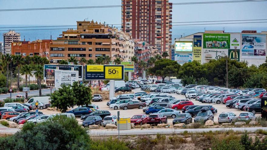 Benidorm amplía en 350 plazas el parking disuasorio de Beniardá