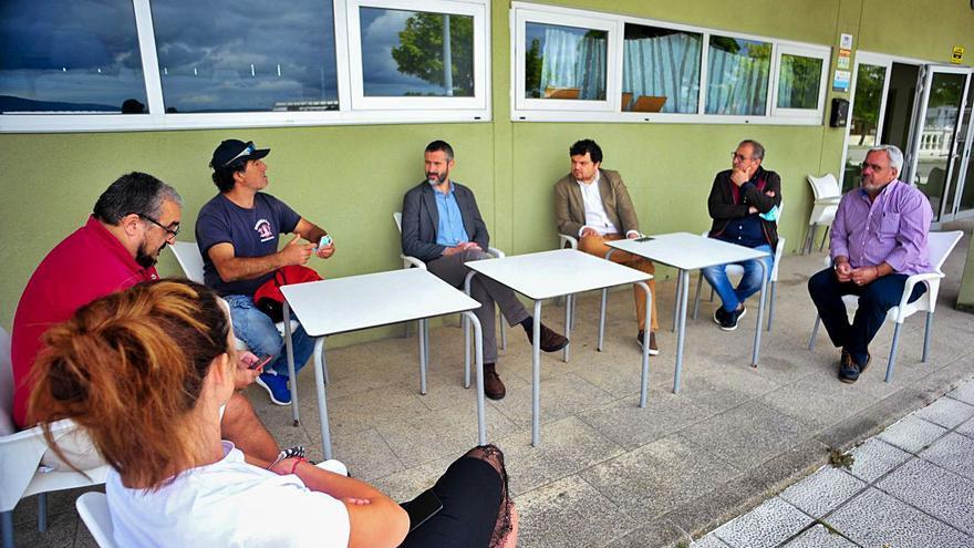 Vilagarcía reclama a Portos la titularidad de 25.000 metros cuadrados en Vilaxoán. Estas son las parcelas