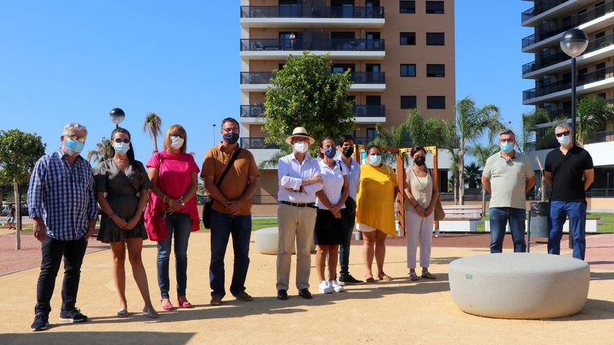 El Campello inaugura un nuevo parque infantil en Ausias March