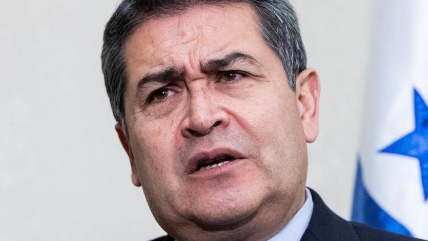 Acusan al presidente de Honduras de recibir dinero del 'Chapo' Guzmán