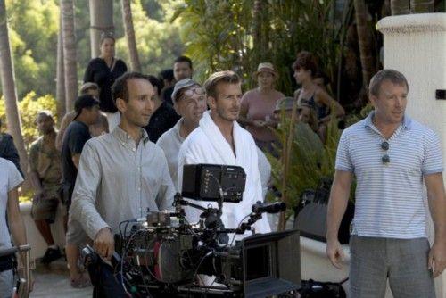 El rodaje de Beckham para H&M