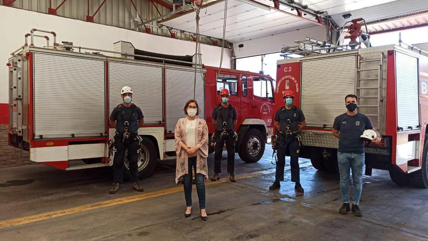 Los bomberos de Maspalomas y del Cabildo compartirán parques y equipos